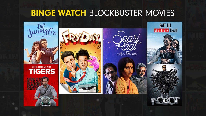 Blockbuster Binge