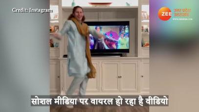 Foreigner dancing on Shahrukh Khan song video gone viral on social media uppm