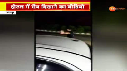 Drunk government doctor's video in Bharatpur goes viral on social media