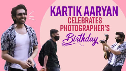 Kartik Aaryan की दरियादिली ने जीत लिया दिल, फोटोग्राफर का खास अंदाज में बनाया बर्थडे