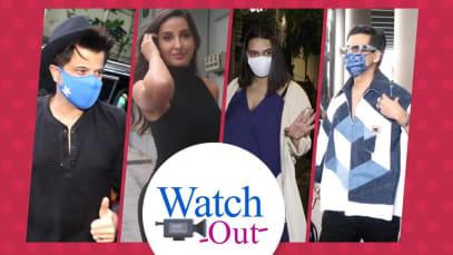 मुंबई में स्पॉट किए गए ये फिल्मी सितारे, किसी ने कैमरे को किया पूरी तरह इग्नोर तो किसी ने दिए जमकर पोज