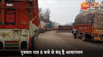 Mandla: 5km long traffic jam creates chaos