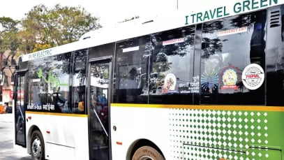 Bus Owners Association protest asking to hike bus fares