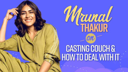 Toofan actress Mrunal Thakur shares a word of advice for aspiring actors on how to tackle casting couch – watch video [Exclusive]