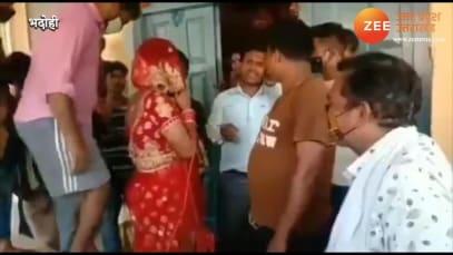 Bhadohi: Man dresses as woman meet his girlfriend on her wedding day