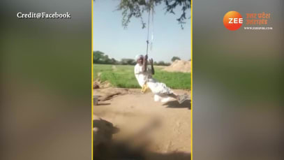 Tau was swinging suddenly falls down video gone viral on social media smup