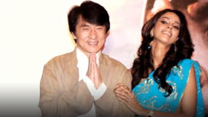 When Jackie Chan made Mallika Sherawat confident to appear at Cannes; told her, 'I'm a big star and you're my arm-candy'