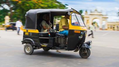 Now rickshaws turn oxygen ferriers and ambulances