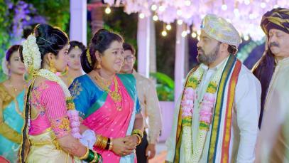 Anu Bids Adieu to Her Family