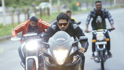 Vedanth Is Challenged for a Bike Race