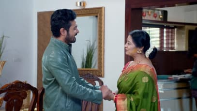 Nisha Tries to Provoke Sita