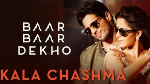 Kala Chashma - Baar Baar Dekho | Sidharth Malhotra | Katrina Kaif