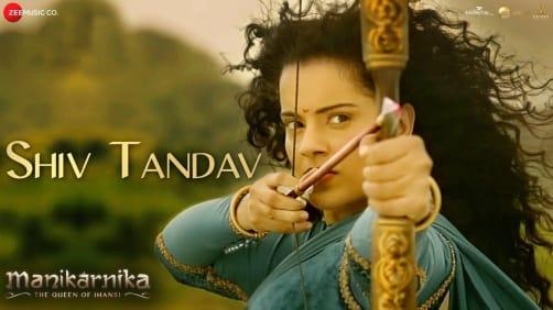 Shiv Tandav - Manikarnika   Kangana Ranaut