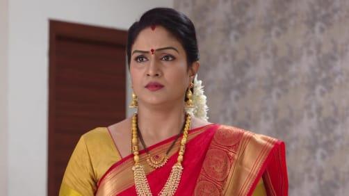 Vikram reveals Aditya's condition to Vedavati - Akka Chellellu