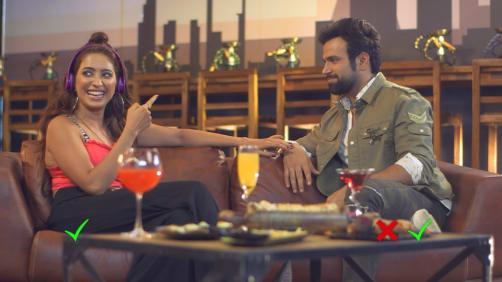 BTS with Rithvik and Asha - A Table For Two