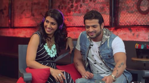 BTS with Karan Patel and Ankita Bhargava - A Table for Two