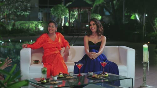 Deadly Duo; Surbhi Chandna and Surbhi Jyoti  - A Table For Two