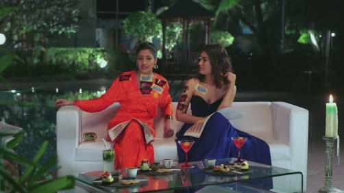 BTS with Surbhi Chandna and Surbhi Jyoti  - A Table For Two