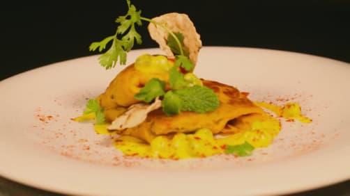 Gautam and Ranveer visit Microsign - Food Tripping