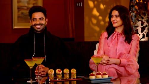 Aparshakti And Karishma On The Show