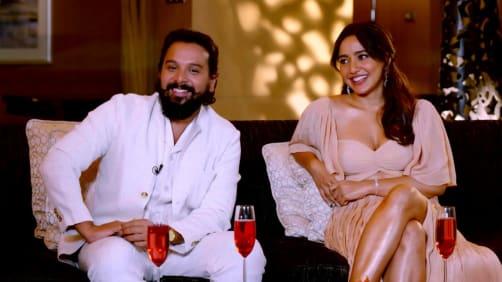 Namit Das and Neha Sharma on the Show