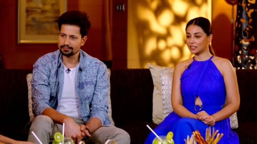 Sumeet and Amrita Grace the Show