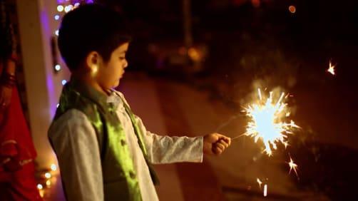 Danny celebrates Diwali - Spirit of India - The Festivals