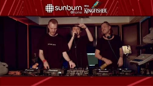 Swanky Tunes - Sunburn at Home