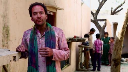 Cory celebrates Holi - Spirit of India - The Festivals