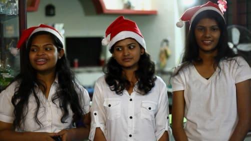 Cory celebrates Christmas - Spirit of India - The Festivals