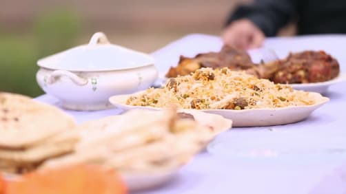 Ranveer Brar enjoys Lucknowi flavours - The Great Indian Rasoi