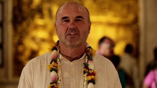 Danny celebrates Janmashtami - Spirit of India - The Festivals