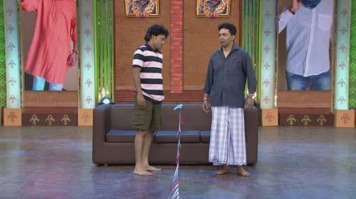 Sunny and Kiran present a unique performance