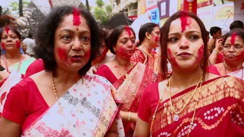 Cory celebrates Durga Puja - Spirit of India - The Festivals