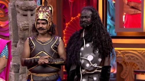 The 'Pauranika' round - Comedy Khiladigalu Championship S2