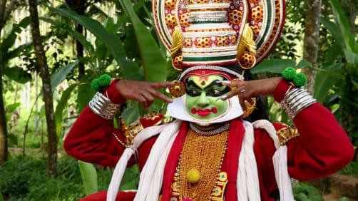 Danny celebrates Onam - Spirit of India - The Festivals